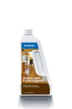 Очиститель для паркета и пробки WOOD FLOOR CLEANER Dr. Shutz