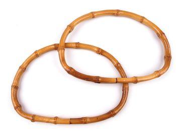 Mâner din bambus, 13x18 cm / bambus închis