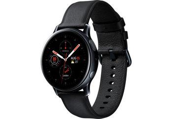 купить Samsung Galaxy Watch Active 2 SM-R830 40mm Stainless Steel, Black в Кишинёве