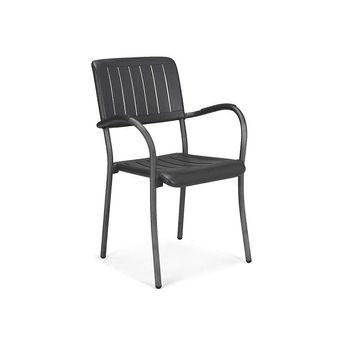 Кресло Nardi MUSA ANTRACITE vern. antracite 61052.02.000 (Кресло для сада и террасы)