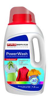 Жидкий порошок PROservice PowerWash Color, 1.5л