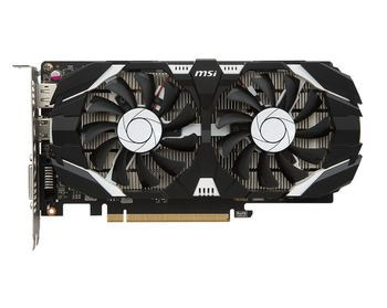 MSI GeForce GTX 1050 2GT OCV1 /  2GB DDR5 128Bit 1518/7008Mhz, DVI, HDMI, DisplayPort, Dual fan, Military Class 4 (MIL-STD-810G), Gaming App, Retail