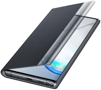 купить Чехол для моб.устройства Samsung Galaxy Note 10 ,EF-ZN970 Clear View Cover Black в Кишинёве