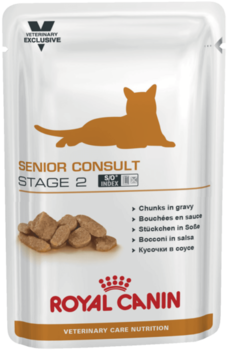 купить Royal Canin  SENIOR CONSULT STAGE 2 WET 100 gr в Кишинёве