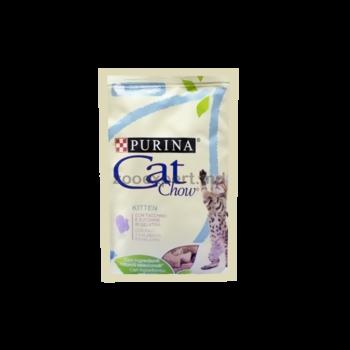 """купить Cat Chow  для котят """" Кусочки в желе с индейкой и кабачком """"  85 gr в Кишинёве"""