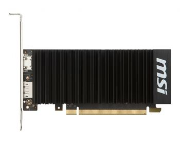 MSI GeForce GT 1030  2GH LP OC /  2GB GDDR5 64Bit 1518/6008Mhz, HDMI, Display Port, Heatsink, Completely Silent, Military Class 4 (MIL-STD-810G), LowProfile, (LP bracket included), Retail