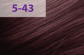 Vopsea p/u păr, ACME jNowa Siena CS, 90 мл., 5/43 - Maro mediu roșu-auriu
