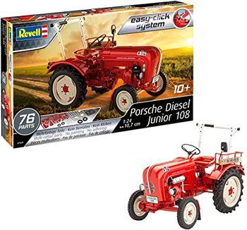 """Сборная модель Трактор """"Porsche Junior 108"""", код 43871"""