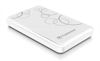 "купить 1.0TB (USB3.0) 2.5"" Transcend ""StoreJet 25A3"", White, Anti-Shock, One Touch Backup в Кишинёве"