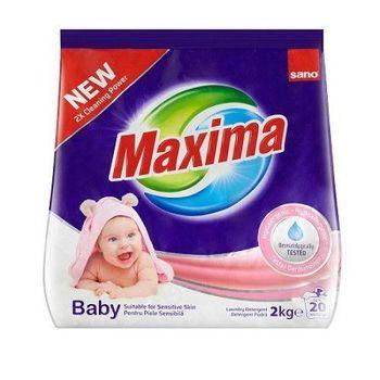 купить Стиральный порошок Sano Maxima for Baby and Sensitive skin 2 кг, арт.991341 в Кишинёве