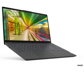 "Laptop 15.6"" Lenovo IdeaPad 5 15ARE05 Graphite Grey, AMD Ryzen 5 4500U 2.3-4.0Ghz/8GB DDR4/SSD 512GB/ AMD Radeon Graphics/WiFi 802.11ac/BT/ HDMI/ USB-C/HD WebCam/15.6"" IPS FullHD LED Non-glare display (1920x1080)/No OS"