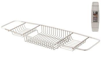 Полка-перекладина на ванну 68.5X18cm, нерж сталь