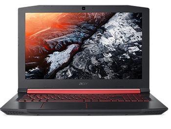 """ACER Nitro AN515-31 Shale Black (NH.Q3LEU.014) 15.6"""" FullHD (Intel® Hexa-core™ i7-8750HQ 2.20-4.10GHz (Coffee Lake), 16Gb DDR4 RAM, 1.0TB HDD, GeForce® GTX 1050Ti 4Gb DDR5, w/o DVD, WiFi-AC/BT, 4cell, 720P HD Webcam, RUS, Backlit KB, Linux, 2.7kg)"""