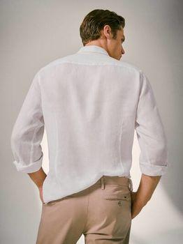 Рубашка Massimo Dutti Белый 0145/145/250