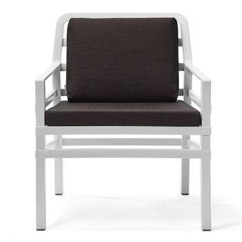 Кресло с подушками Nardi ARIA BIANCO caffe 40330.00.165.165 (Кресло с подушками для сада и терас)