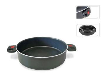 Сковорода Ballarini Click&Cook 4l, 28сm, 2 складные ручки