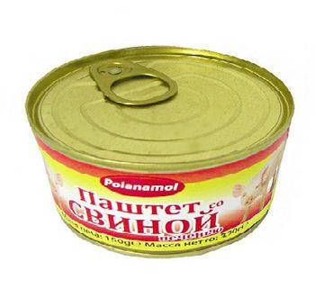 """купить """"Poianamol"""" Паштет со Свининой печенью 290мл в Кишинёве"""