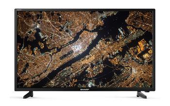 "43"" LED TV SHARP LC-43FG5242E, Black, 1920x1080 (FHD), SmartTV (Aquas NET+), Wifi+Lan, Active Motion 200, ACE PRO Engine, Harman Kardon, RMS 2x10W, HDMIx3, USBx2, DVB-T2/C/S2/CI+, Vesa 200x300"