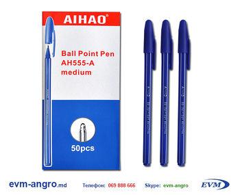 Ручка   AH 555B ЧЁРНЫЙ  50 2800
