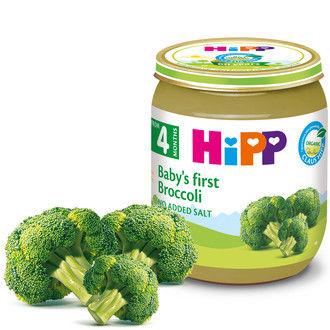купить Hipp первое пюре брокколи 4+меc. 125г в Кишинёве