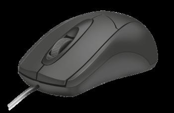 Mouse Trust Ziva, Black