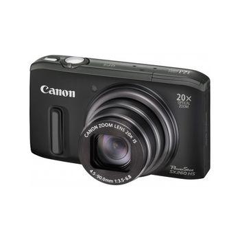cumpără Aparat foto digital Canon PowerShot SX260HS Black în Chișinău