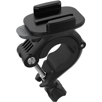 GoPro Handlebar/Seatpost/Pole Mount -mount GoPro to handlebars, ski poles and tubes from 9 to 35mm diameter, compatible with HERO6 Black, HERO5 Black, HERO5 Session, HERO Session, HERO4 Black, HERO4 Silver, HERO+ LCD, HERO+, HERO