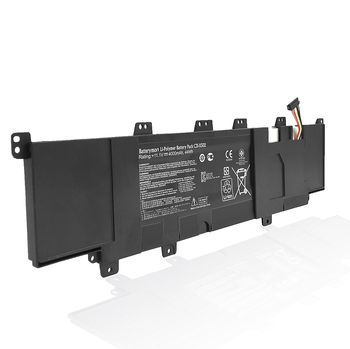Battery Asus X502 S500 V500 PU500 C21-X502 C31-X502 11.1V 4000mAh Black Original