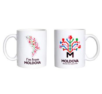 купить Кружка белая – I'm from Moldova в Кишинёве