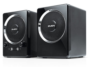 Active Speakers SVEN 247 Black USB, RMS 4W, 2x2W (boxe sistem acustic/колонки акустическая сиситема)