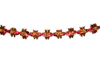 Гирлянда декоративная из фольги, объемная
