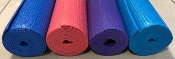 Коврик для фитнеса + чехол 173х61х0.4 см PVC MaG 60013 (2619)