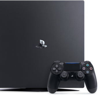 Game Console  Sony PlayStation 4 PRO 1TB Black, 1 x Gamepad (Dualshock 4)