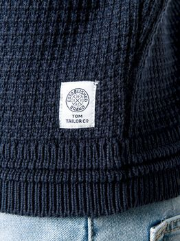 Трикотаж Tom Tailor Темно синий 1008906 tom tailor