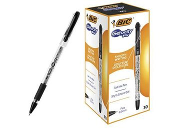Pix cu gel BIC Gel-osity Stile (f), negru