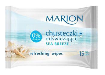 Салфетки влажные MARION 15 Fruits / Green Tea / Sea Breeze