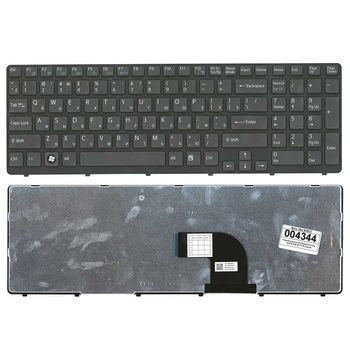 Keyboard Sony SVE15 SVE17 w/frame ENG/RU Black