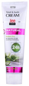 купить Крем для рук и тела увлажняющий Jee Cosmetics Hand & Body Cream Natural Clinic Aloe Vera 100мл в Кишинёве