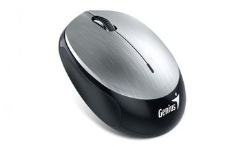 купить Wireless Mouse Genius NX-9000BT,Optical, 800-1600 dpi, 3 buttons, Bluetooth, Rechargeable, Gray в Кишинёве