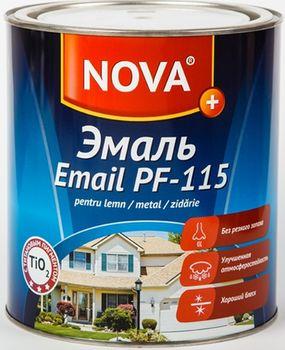 купить ЭМАЛЬ алкидная, глянцевая ПФ-115 NOVA PLUS 2,7 кг голубой в Кишинёве