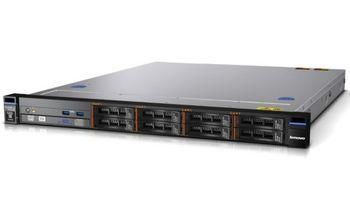 "Lenovo System x3250 M5, 1x Intel Xeon 4C E3-1241v3 80W 3.5GHz/1600MHz/8MB, 1x8GB, Open Bay Hot-Swap 2.5"" SAS/SATA (for 4x 2.5"" HDD), ServeRAID H1110 controller, RAID-0, 1, 10, 2x 1Gb Ethernet ports, fixed 1x 300W p/s, Rack 1U"