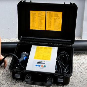 cumpără Aparat de sudara electrofusiune cu inregistrator Georg Fischer MSA 125 230V Scaner +GF+ în Chișinău