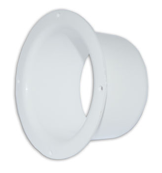 купить Фланец для круглых каналов пластиковый Ø100mm (белый) VF100 Europlast в Кишинёве