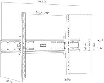 Кронштейн для ТВ Charmount CT-PLB-E804