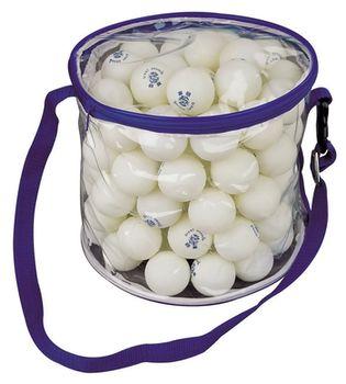 Теннисные мячи для пинг-понга 100 шт. в удобной сумке