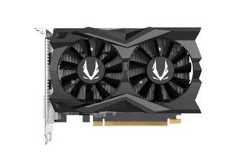 ZOTAC GeForce GTX 1650 D6 AMP! Edition  4GB GDDR6, 128bit, 1650/12000Mhz, Dual Fansink, 2*70mm Twin Fan, HDCP, 1xDVI-D, 1xHDMI, 1xDisplayPort, FireStorm, OC Scanner, Light Pack