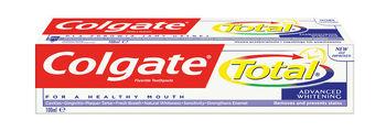 купить Colgate Total зубная паста Advanced Whitening, 100 мл в Кишинёве
