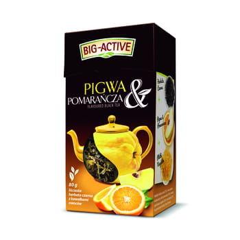 купить Чай черный Big Active with Quince & Orange, 80 г в Кишинёве