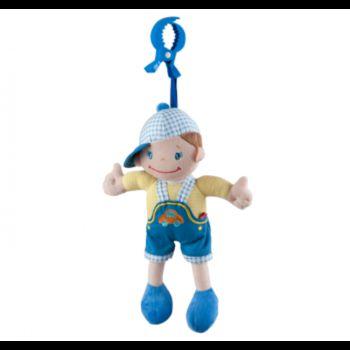 Музыкальная игрушка мальчик в шапке