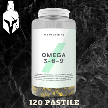 Незаменимые жирные кислоты Омега 3-6-9 - MyProtein - 120 капсул